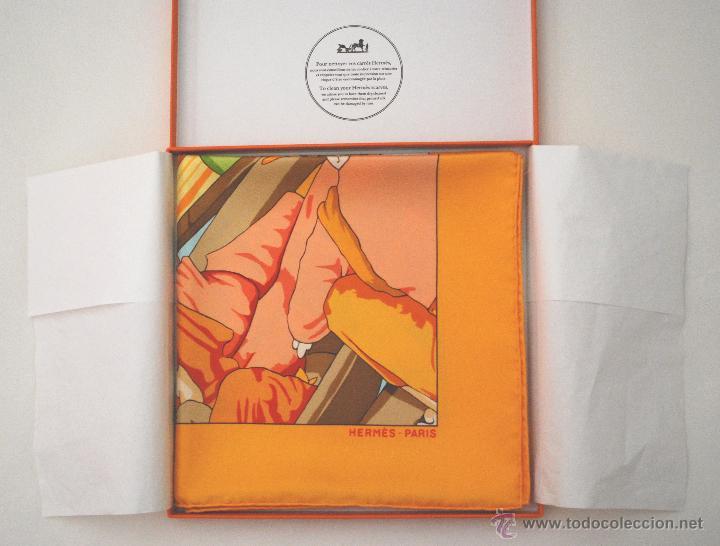 Vintage: Pañuelo vintage de seda de Hermès a estrenar (ver fotos adicionales) - Foto 5 - 53939085