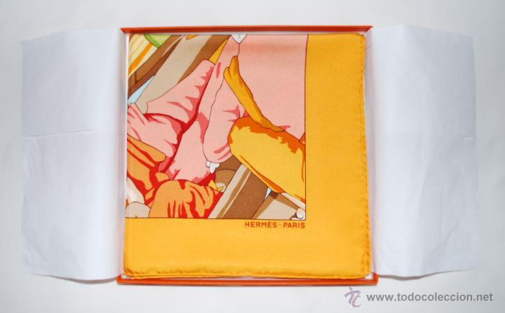 Vintage: Pañuelo vintage de seda de Hermès a estrenar (ver fotos adicionales) - Foto 6 - 53939085