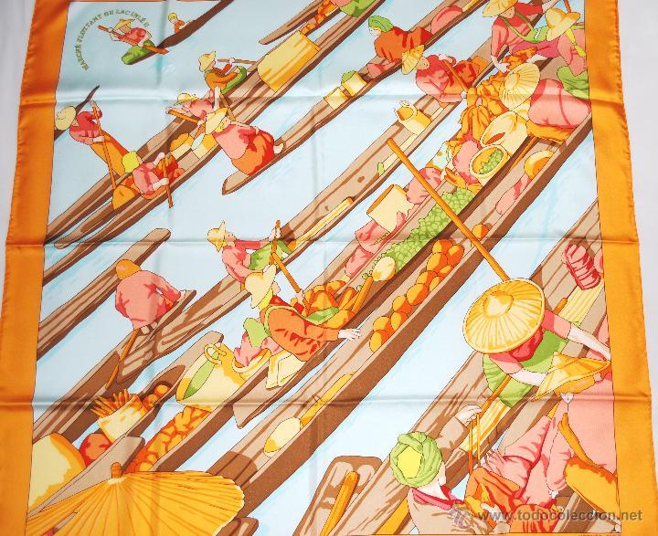 Vintage: Pañuelo vintage de seda de Hermès a estrenar (ver fotos adicionales) - Foto 9 - 53939085