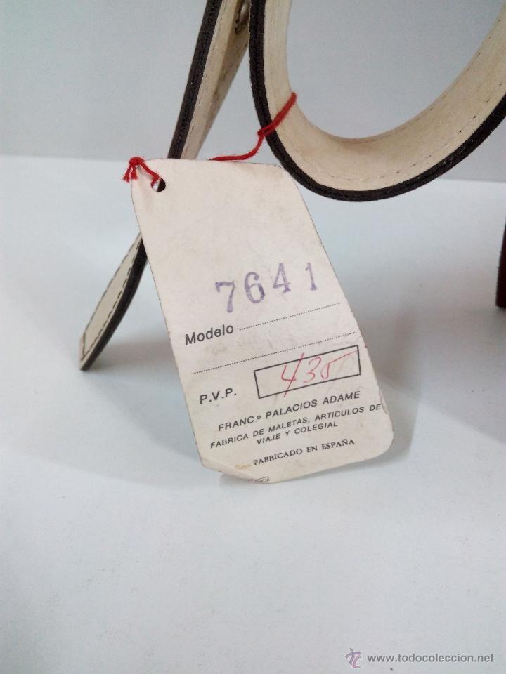 Vintage: ANTIGUA CARTERA DE COLEGIO . FABRICADO POR PALACIOS AÑOS 70 - Foto 4 - 54022943