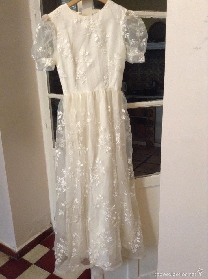 vestido de novia años 60 - vendido en venta directa - 54077312