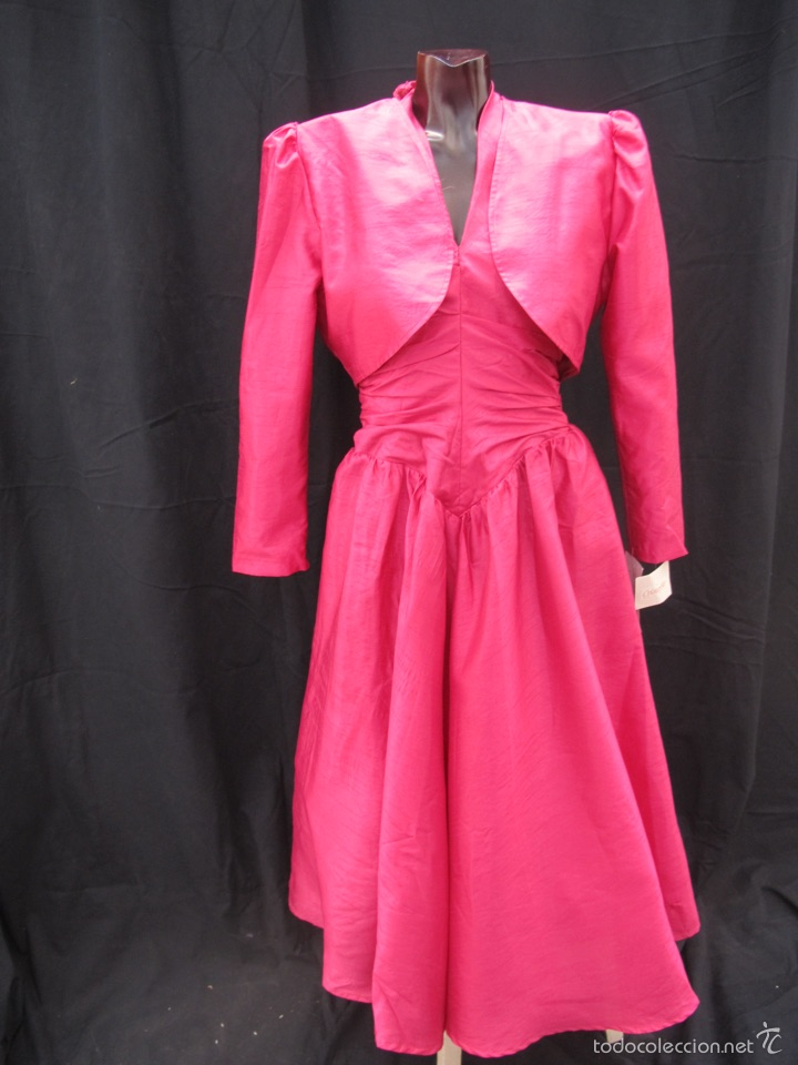 vestidos fiesta años 80-90 - Comprar Moda vintage mujer en ...