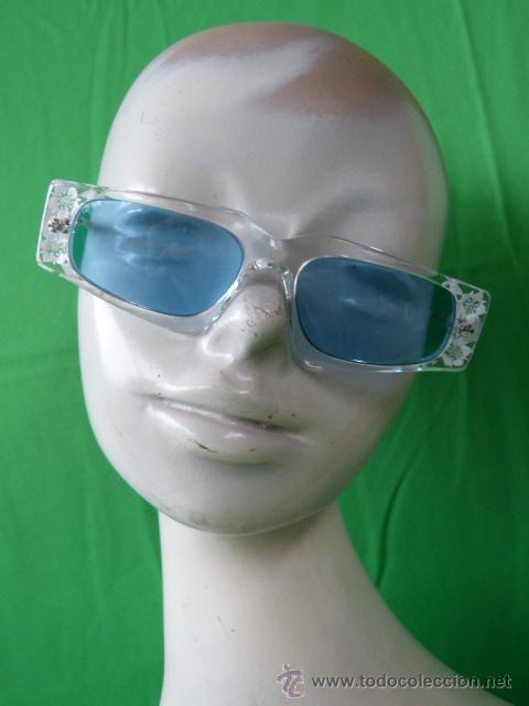 gafas vintage de diseño aleman con lentes azule - Comprar ...