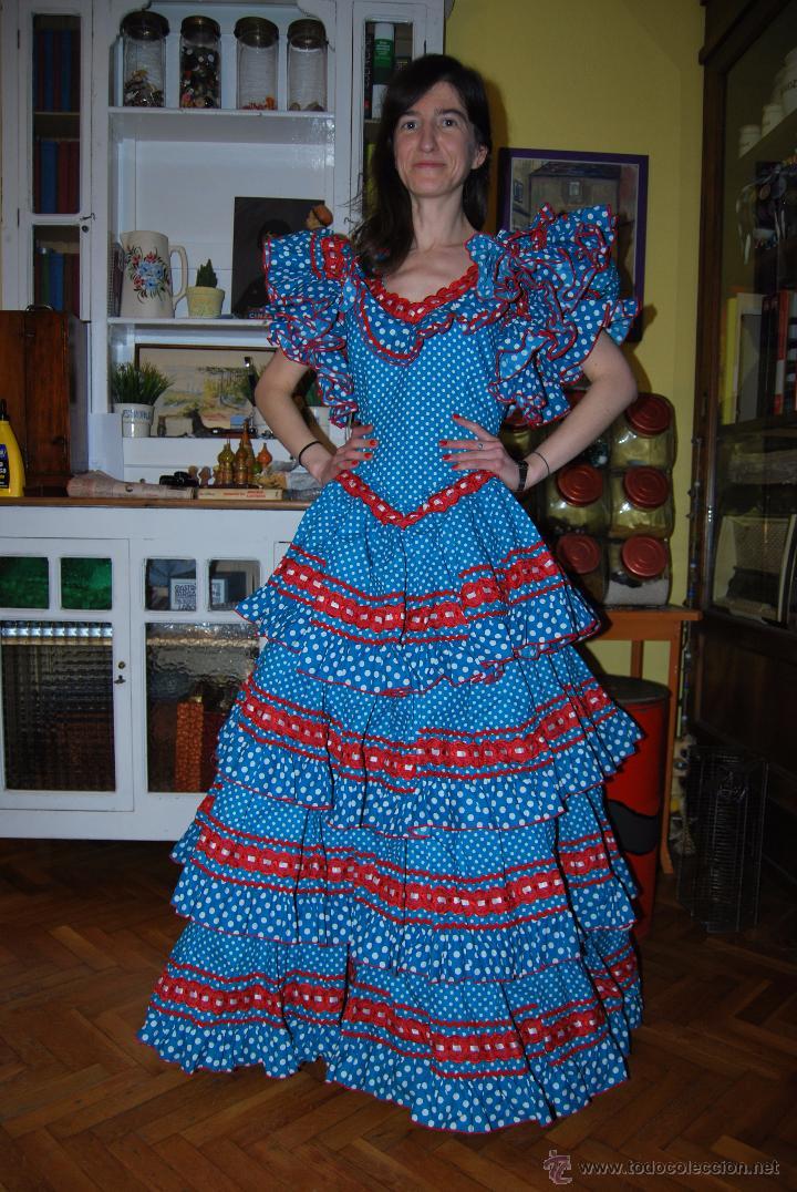 e1f273dcd Traje de flamenca de paco álvarez - modelo dehe - Vendido en Venta ...