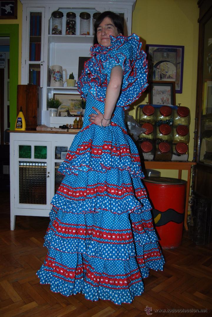 a42328bd5 Traje de flamenca de paco álvarez - modelo dehe - Sold through ...