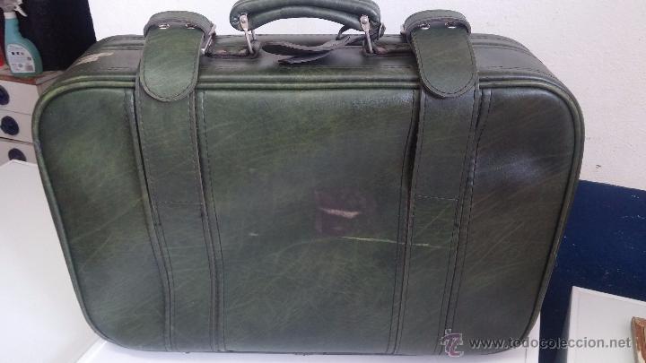 Vintage: Antiguo maletín maleta, ideal para guardar colecciones o para darle uso vintage - Foto 2 - 54276777