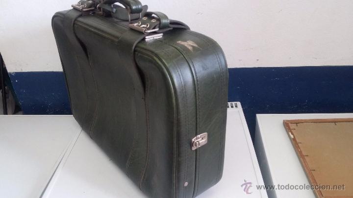 Vintage: Antiguo maletín maleta, ideal para guardar colecciones o para darle uso vintage - Foto 4 - 54276777