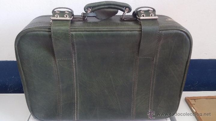 Vintage: Antiguo maletín maleta, ideal para guardar colecciones o para darle uso vintage - Foto 5 - 54276777
