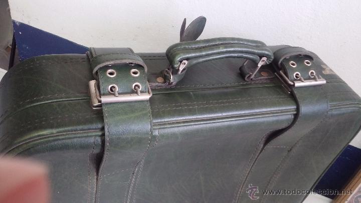 Vintage: Antiguo maletín maleta, ideal para guardar colecciones o para darle uso vintage - Foto 9 - 54276777