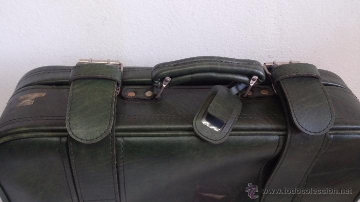 Vintage: Antiguo maletín maleta, ideal para guardar colecciones o para darle uso vintage - Foto 12 - 54276777
