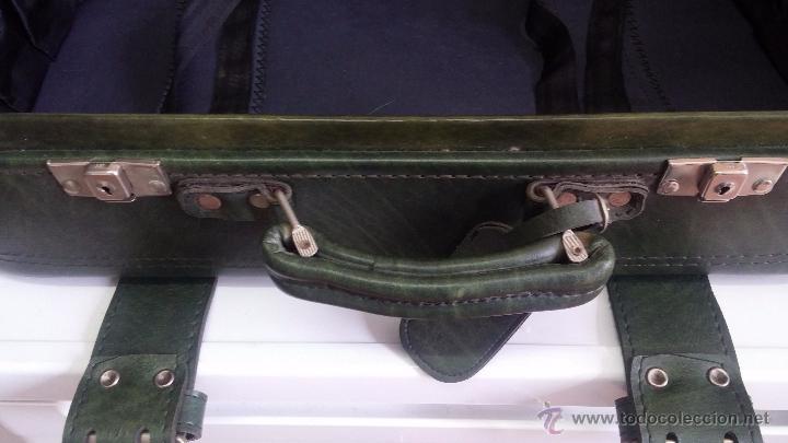 Vintage: Antiguo maletín maleta, ideal para guardar colecciones o para darle uso vintage - Foto 20 - 54276777