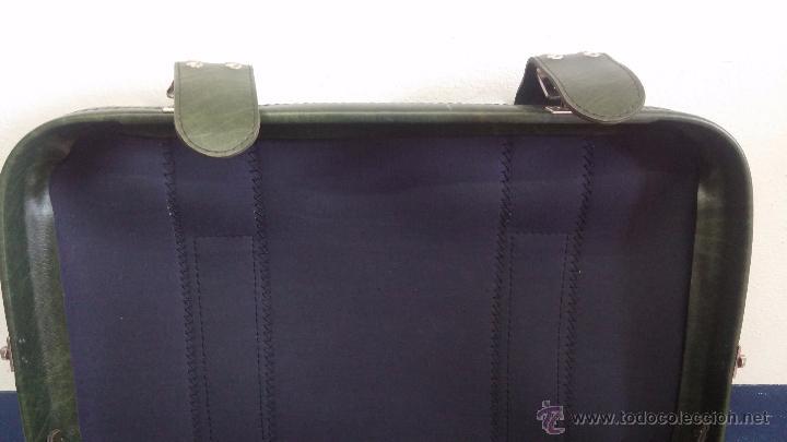 Vintage: Antiguo maletín maleta, ideal para guardar colecciones o para darle uso vintage - Foto 21 - 54276777