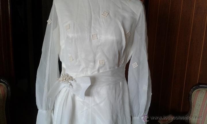 vestido de novia vintage de los años 60. - vendido en venta directa