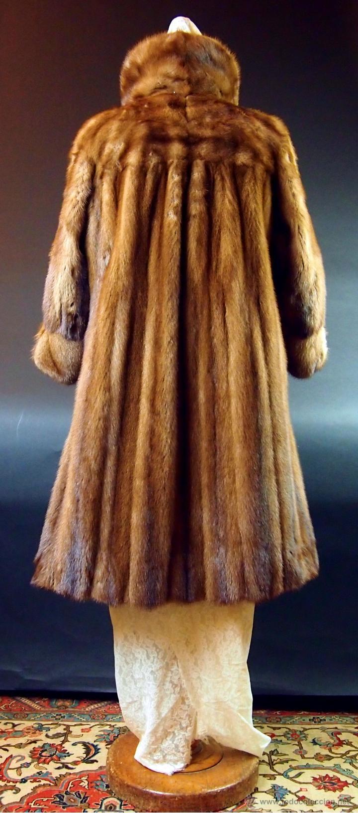 Abrigos de piel usados vintage