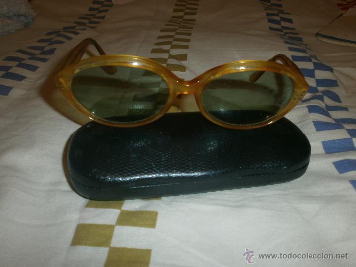Vintage: GAFAS DE SOL VINTAGE MONTURA OVALADA MAXIM'S. FUNDA VISIOLAB. - Foto 3 - 55076212