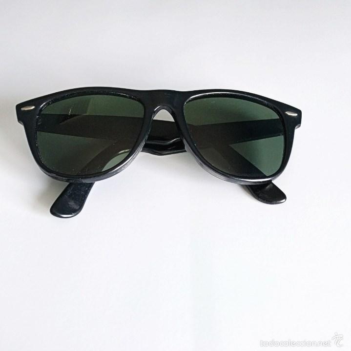 0fbea33e45 Vintage  Ray-Ban Wayfarer II B L U.S.A. Gafas de sol vintage color negro -