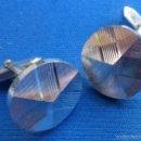 Vintage: GEMELOS PLATEADOS. CIRCULARES. Lote 56147286