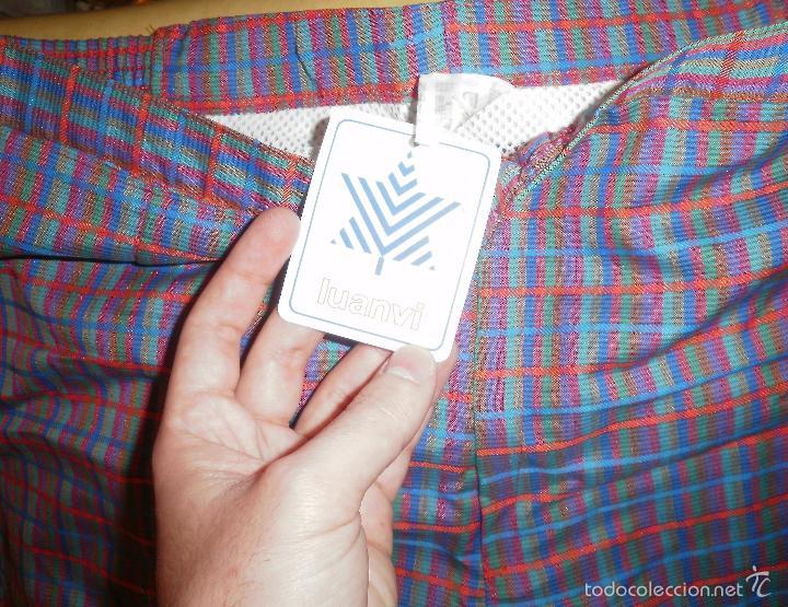 Vintage: Moda vintage. Bañador (pantalón deportivo). Luanvi, años 60/70, nuevo, con etiqueta - Foto 2 - 56192782
