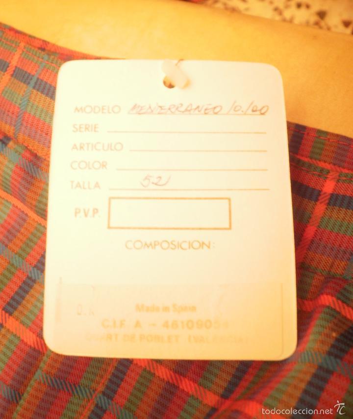 Vintage: Moda vintage. Bañador (pantalón deportivo). Luanvi, años 60/70, nuevo, con etiqueta - Foto 3 - 56192782