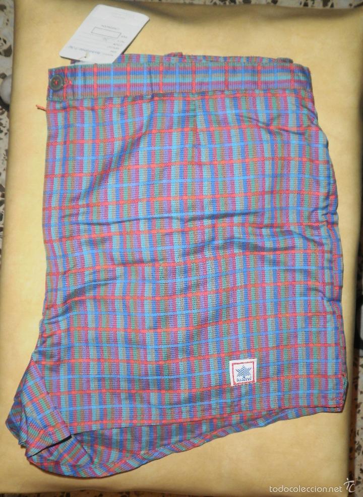Vintage: Moda vintage. Bañador (pantalón deportivo). Luanvi, años 60/70, nuevo, con etiqueta - Foto 4 - 56192782