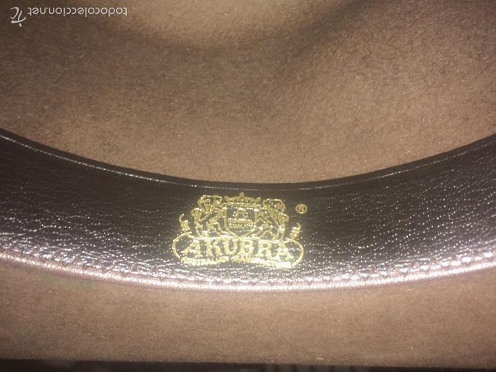 ad55bf8d32255 Vintage  Sombrero Fieltro Pelo Tablelands by AKUBRA - Foto 6 - 56277786