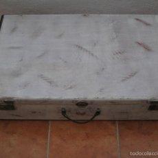 Vintage: MALETA ANTIGUA RESTAURADA. Lote 56688347