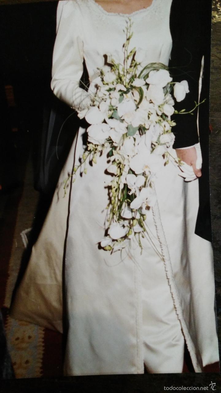 VESTIDO DE NOVIA AÑOS 90 (Vintage - Moda - Mujer)