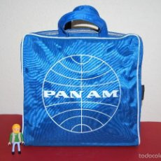 Vintage: BOLSO DE AZAFATA DE PAN AM - PANAM - MALETA - MALETÍN - PAN AMERICAN WORLD AIRWAYS - AVIÓN - AÑOS 60. Lote 57075106