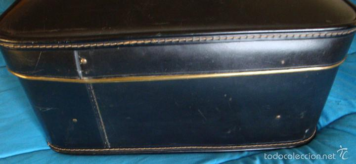 Vintage: Maleta grande Gladiator negra comprada en 1944 viaje de novios - Foto 5 - 57118162