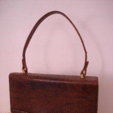Vintage: BOLSO PIEL SERPIENTE. Lote 57150375