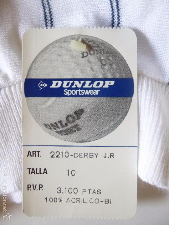 Vintage: SUÉTER DUNLOP SPORTSWEAR TALLA 10, ART 2210 DERBY J.R AÑOS 70-80? - Foto 2 - 57416176