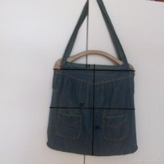 Vintage: VINTAGE BOLSO BOLSA VAQUERO ASAS PASTA. Lote 57563504