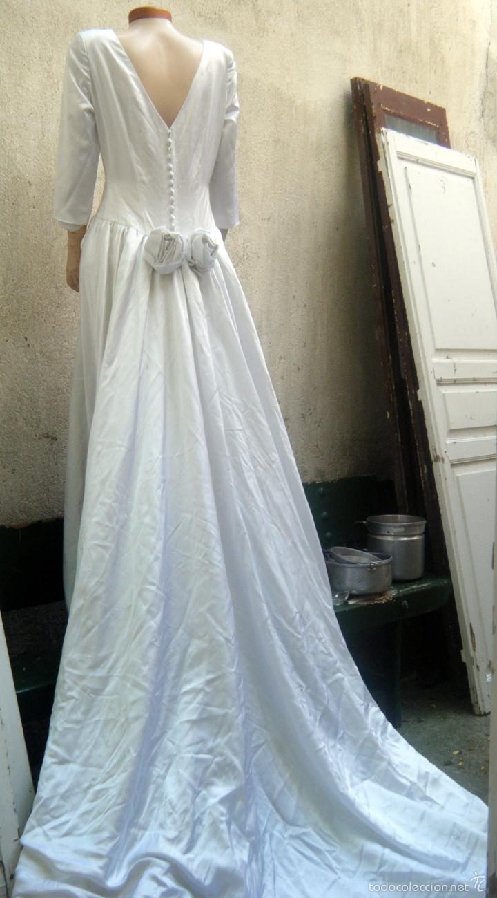 vestido de novia años 60 . confeccionado por mo - Comprar Moda ...