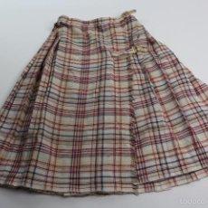 Vintage: *VE-77. FALDA ESCOCESA, AÑOS 70.. Lote 58126254