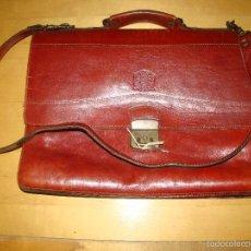 Vintage: BOLSO CARTERA DE CUERO. Lote 58192720