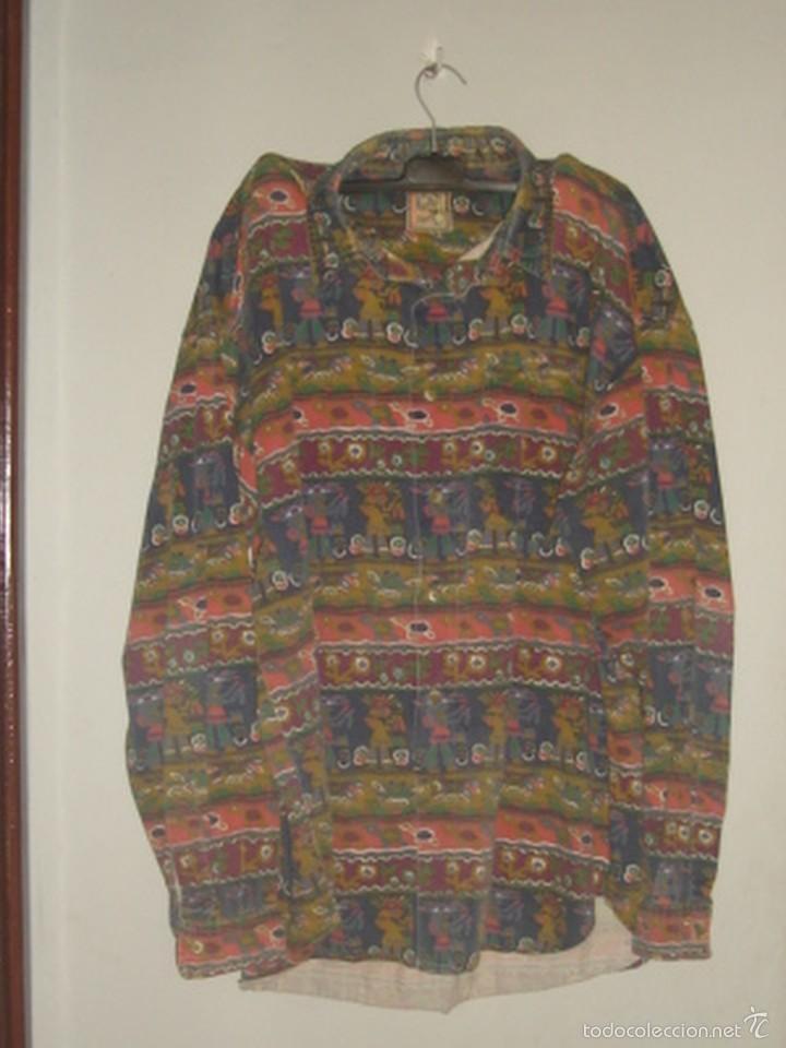 Camisa De Algod 243 N De Los A 241 Os 80 Con Original E Comprar