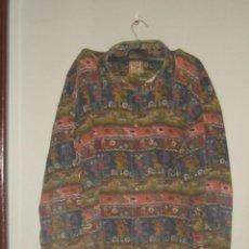Vintage: CAMISA DE ALGODÓN DE LOS AÑOS 80 CON ORIGINAL ESTAMPADO. Lote 59540439