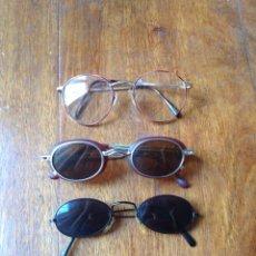 Vintage: GAFAS SOL Y GRADUADAS AÑOS 80. Lote 60629343