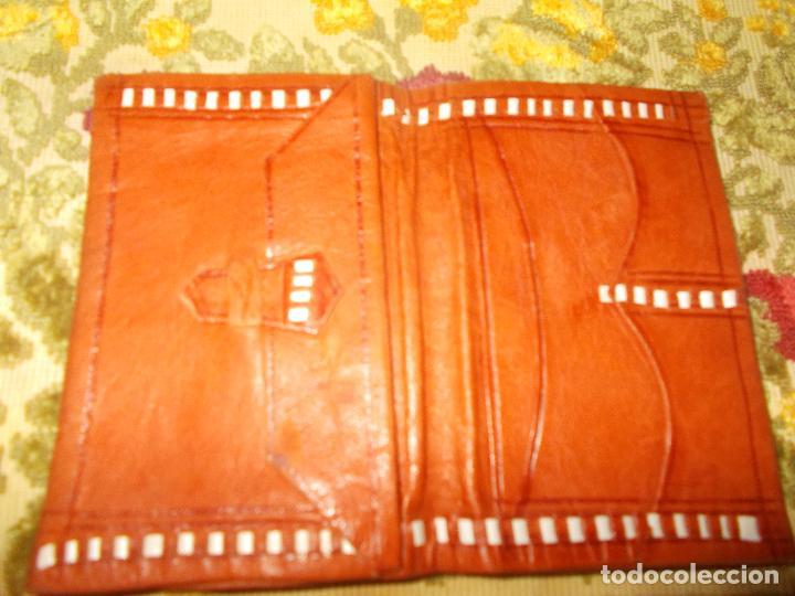 Vintage: Cartera Billetera de piel - Foto 3 - 62074424
