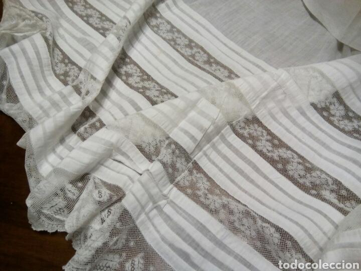 * BAJOS DE ANTIGUAS ENAGUAS . INDUMENTARIA (RF.208*) (Vintage - Moda - Complementos)