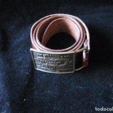 Vintage: EXCELENTE CINTURÓN DE PIEL CON HEBILLA DE LEVI STRAUSS & CO.. Lote 66224682