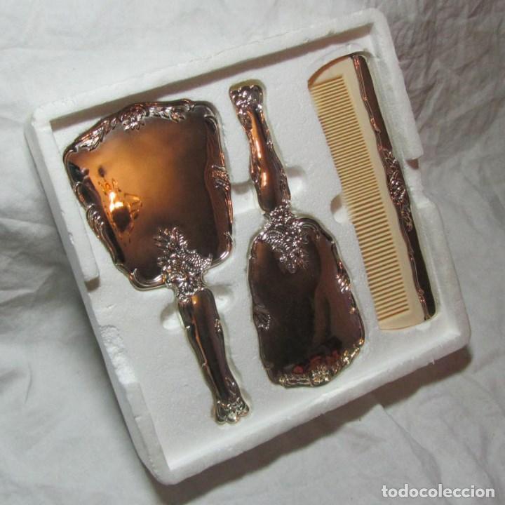 Conjunto de tocador espejo cepillo peine s comprar for Espejo y cepillo antiguo