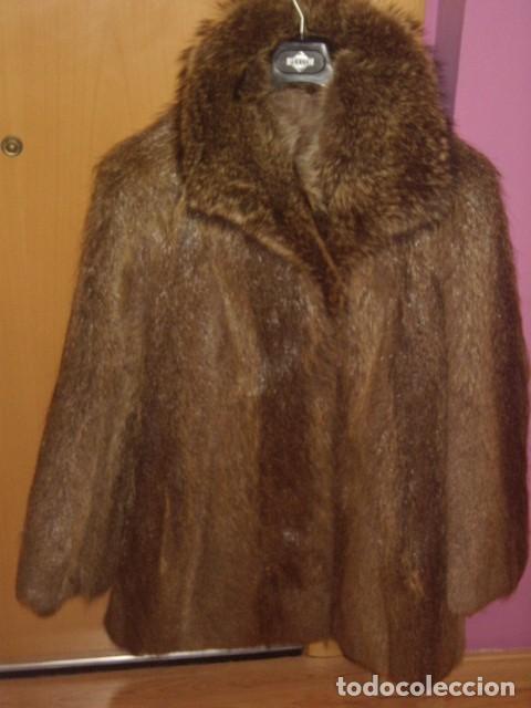 El Piel Moda Nutria talla De Cor chaqueton 42 Abrigo Comprar 6nw5Yzqn