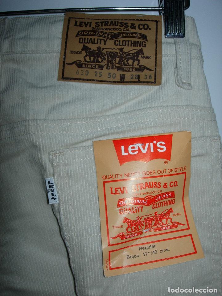 LEVI'S PANTALÓN DE PANA,ORIGINAL AÑOS 70-80,NUEVO CON ETIQUETA,VINTAGE, VARIAS TALLAS DISPONIBLES (Vintage - Moda - Hombre)