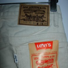 Vintage: LEVI'S PANTALÓN DE PANA,ORIGINAL AÑOS 70-80,NUEVO CON ETIQUETA,VINTAGE, VARIAS TALLAS DISPONIBLES. Lote 151293493