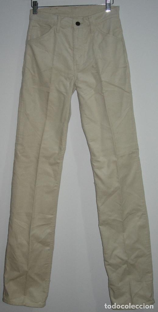 Vintage: levi's pantalón de pana,original años 70-80,nuevo con etiqueta,vintage, varias tallas disponibles - Foto 2 - 151293493