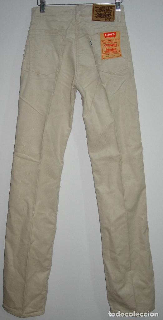 Vintage: levi's pantalón de pana,original años 70-80,nuevo con etiqueta,vintage, varias tallas disponibles - Foto 3 - 151293493
