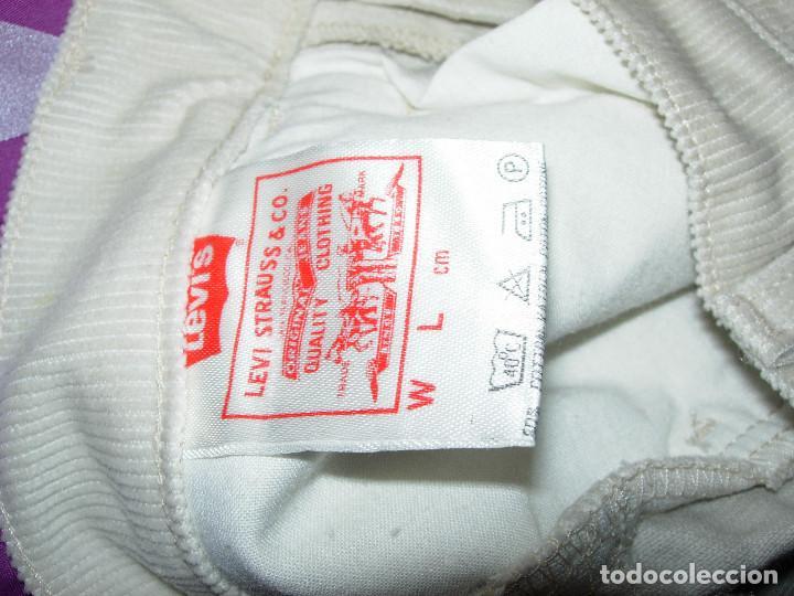 Vintage: levi's pantalón de pana,original años 70-80,nuevo con etiqueta,vintage, varias tallas disponibles - Foto 4 - 151293493
