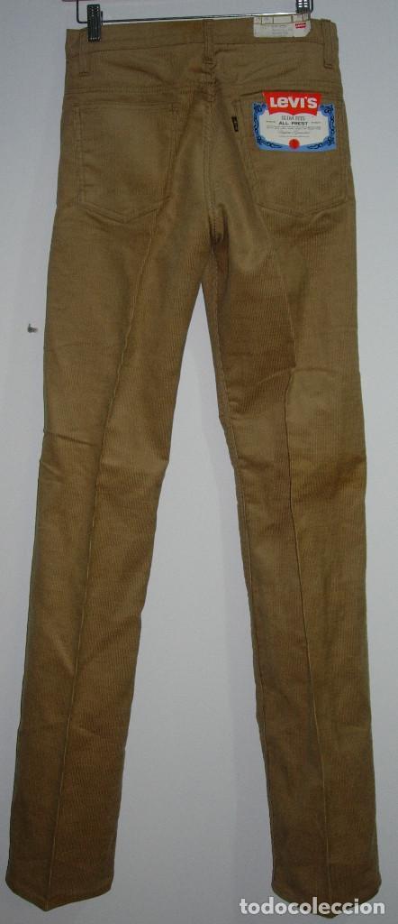 Vintage: levi's pantalón de pana, original años 70-80, nuevo con etiqueta, vintage, W32 L34 - Foto 3 - 144152394