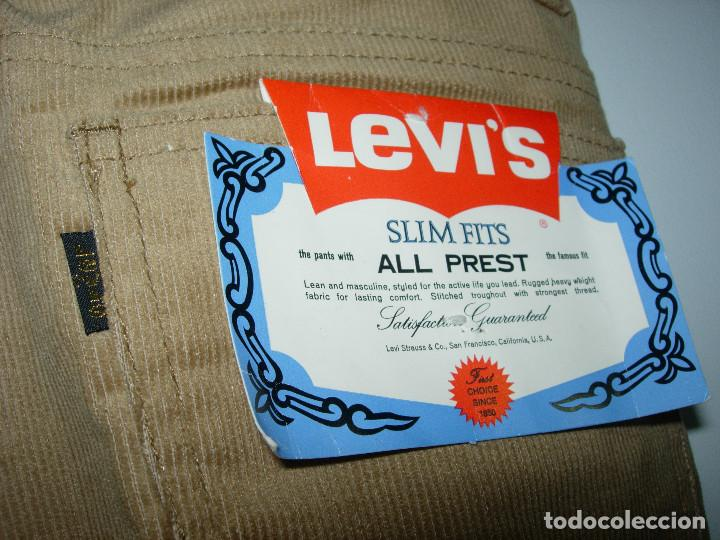 Vintage: levi's pantalón de pana, original años 70-80, nuevo con etiqueta, vintage, W32 L34 - Foto 5 - 144152394